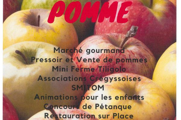 Affiche Fête de la Pomme